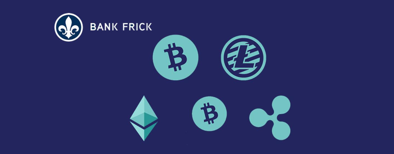 Bank Frick ermöglicht Direktinvestments in Kryptowährungen