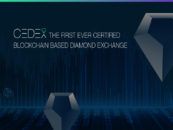 Blockchain-Based Diamond Exchange CEDEX Launches Token Pre-Sale