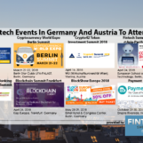 Fintech Events In Germany And Austria To Attend In 2018