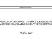 New Research Paper Examines ICO Regulation Across 25 Jurisdictions
