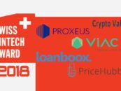 Die Swiss FinTech Awards 2018 Gewinner sind …