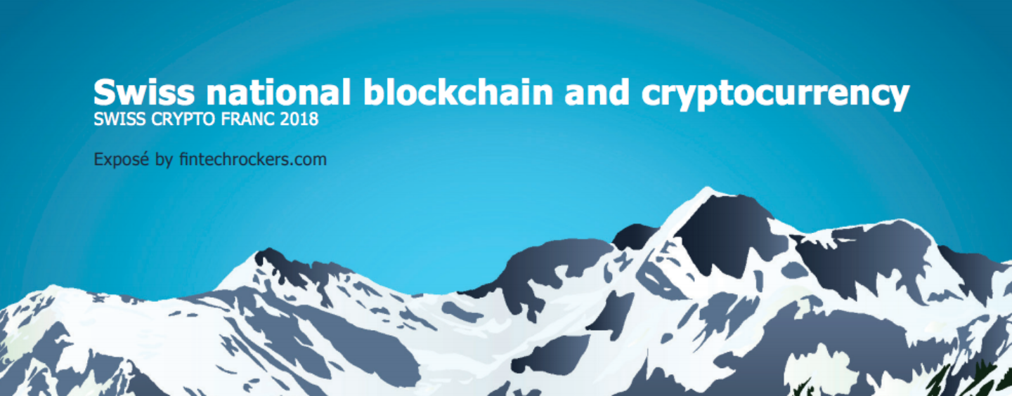 """New Paper Calls For """"Swiss Crypto Franc"""""""