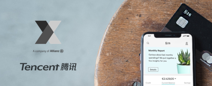 N26 raises record $160m round from Tencent and Allianz ...