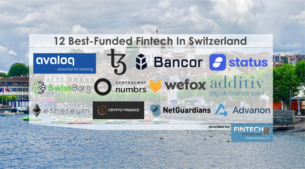 Best Funded Fintech In Switzerland