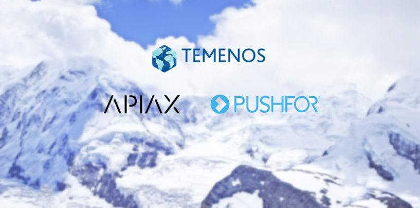 Apiax and Pushfor Go Live on the Temenos MarketPlace
