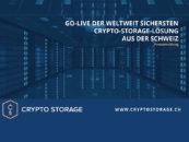 Go-Live: Crypto-Storage-Lösung aus der Schweiz