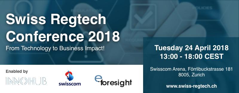 Swiss Regtech Conference 2018