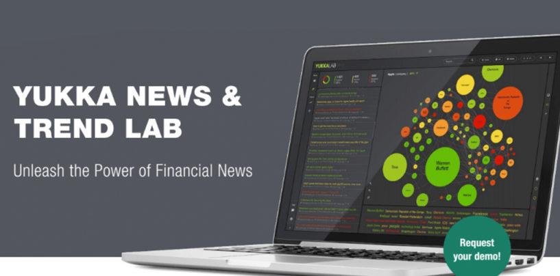 YUKKA News Trend LAB – neues Tool für AI-basierte Analyse von Finanznachrichten