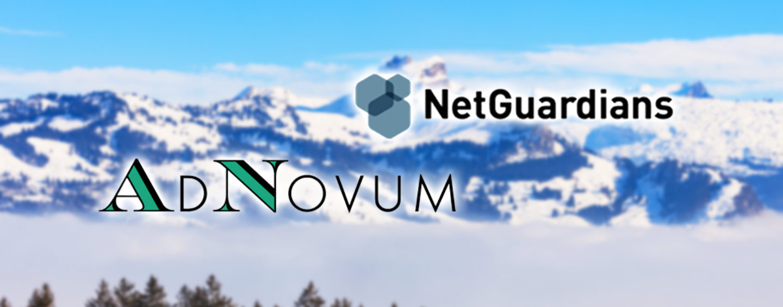 AdNovum: Partnerschaft mit NetGuardians