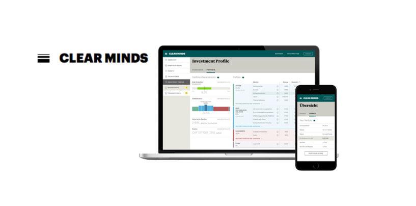Clear Minds- Neue Schweizer Online-Anlageberatung mit Flat Rate
