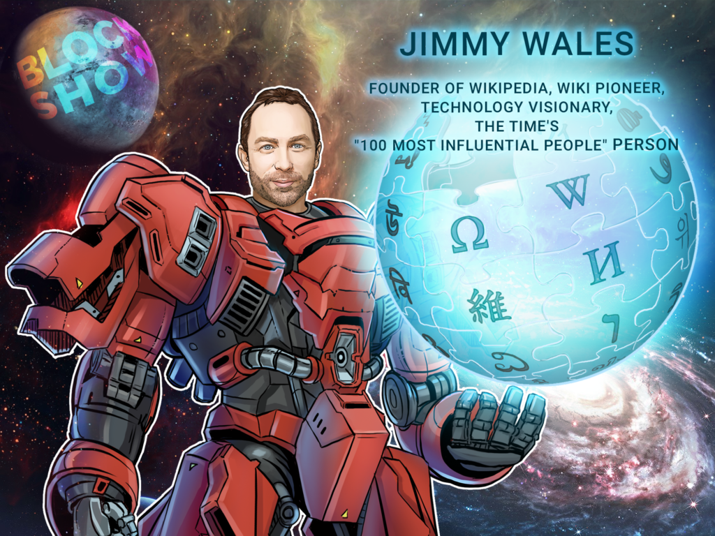 Jimmy Wales Blockshow