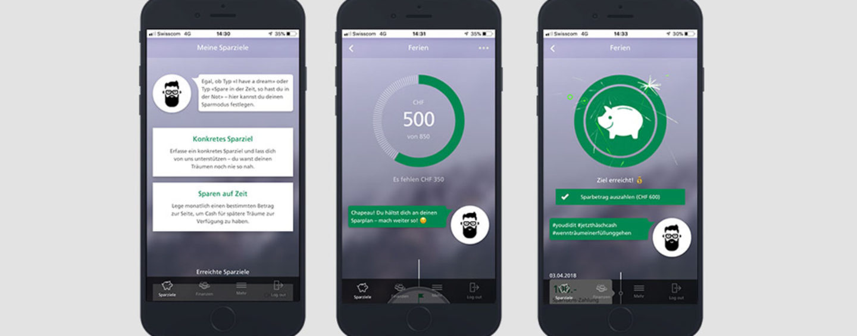 St. Galler KB lanciert neue Spar-App; Sparen wenn Fussball Nati ein Tor schiesst
