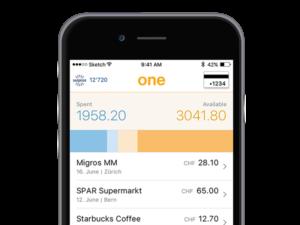 Viseca VisecaOne Smartphone-spendings