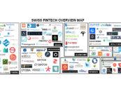 """BORN IN SWITZERLAND"" Swiss Original Fintech Overview Map Update: 113 Companies"