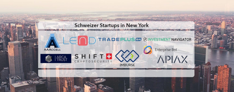 10 Schweizer Fintech Startups fliegen nach New York