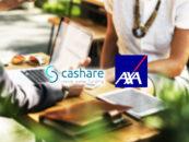 Kooperation von Crowdlending-Pionier Cashare und AXA Versicherung