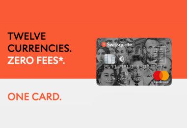 Swissquote Lanciert die Multiwährungs- Kreditkarte für 12 Fremdwährungen