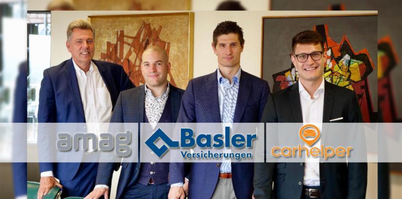 Baloise und Amag Investieren in Online Auto Reperatur Buchungsplatform