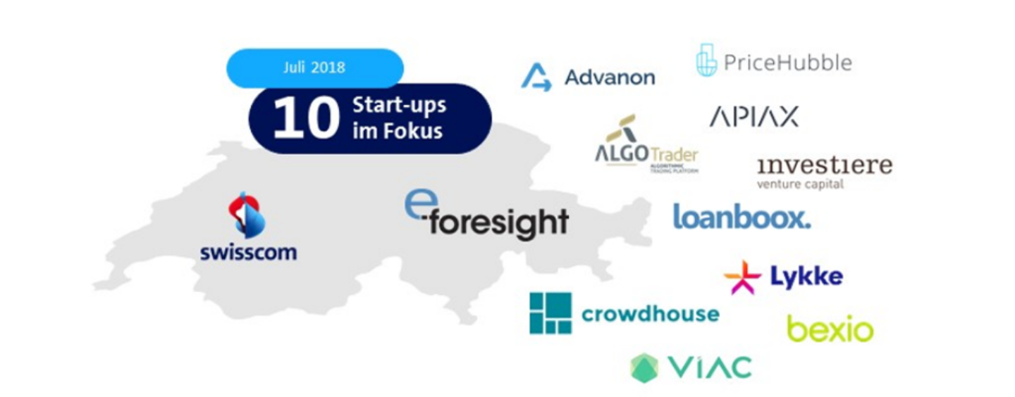 Top 10 Swiss Fintech Start-Ups – Summer Edition