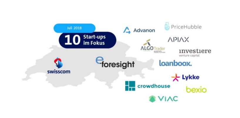 Top 10 Swiss Fintech Start-Ups – Summer Edition