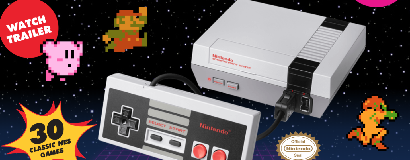 Nintendo Brings Back NES Classic Edition Console