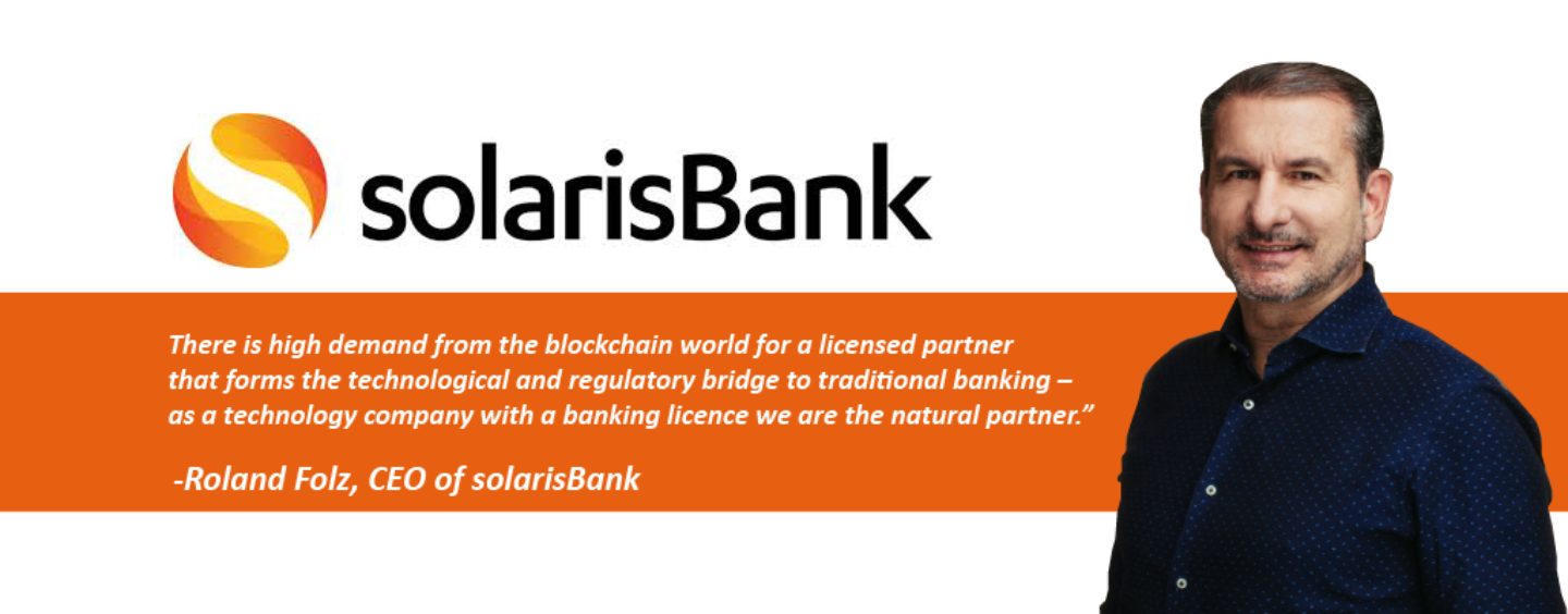 SolarisBank Launches Blockchain Factory, Embraces Cryptocurrency