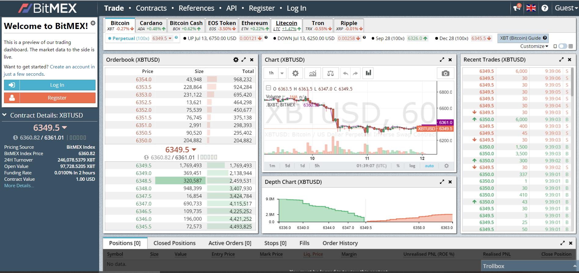 where to buy cryptocurrency bitcoin bitmex