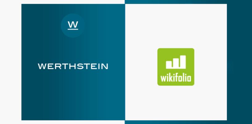 wikifolio Kooperiert mit Robo Advisor Werthstein