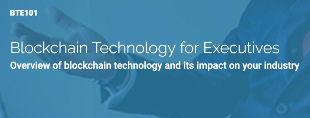 Blockchain Technology for Executives
