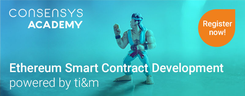 Consensys Academy, Etherum Smart Contracts