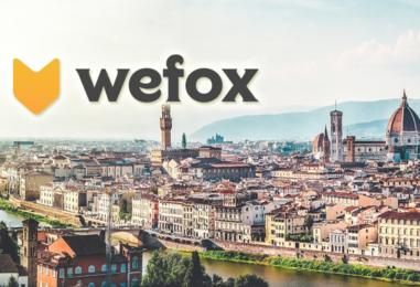 Wefox Expandiert Weiter und Startet in Italien