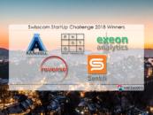 2 Fintech Startups Win Swisscom StartUp Challenge 2018