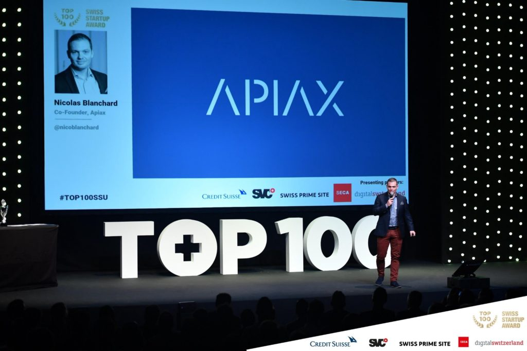 Apiax at the Swiss Startup Award 2018