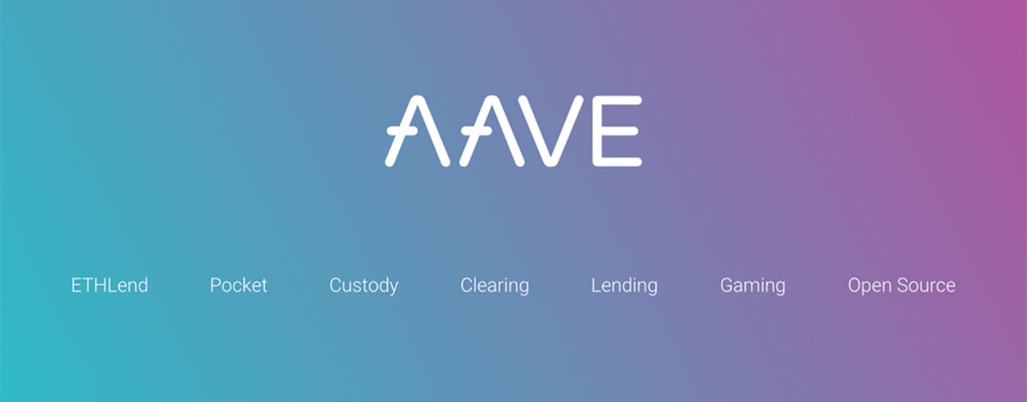 ETHLend Announces Launch of New Parent Company 'Aave'