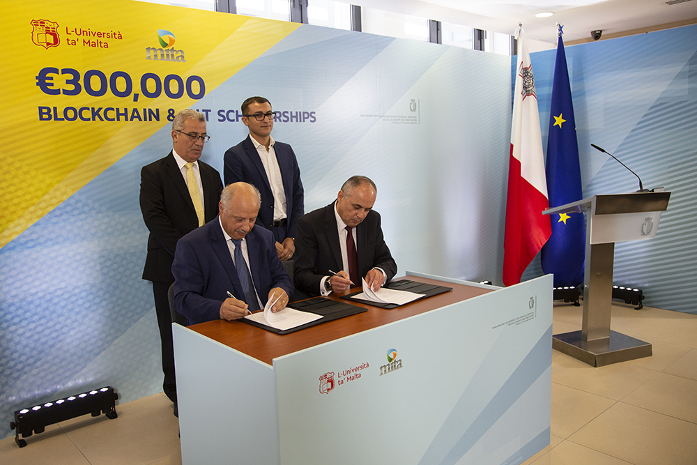 Malta investing €300,000 in Blockchain and DLT scholarships
