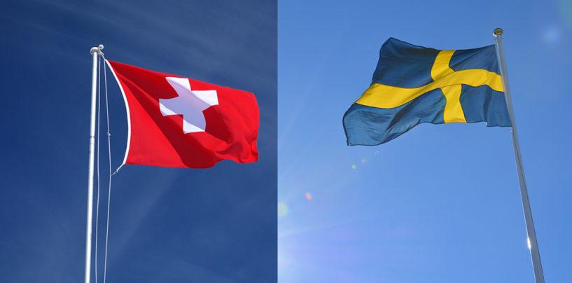 Schweden vs Schweiz: Unterschiede im Mobile Payment; Swish vs Twint