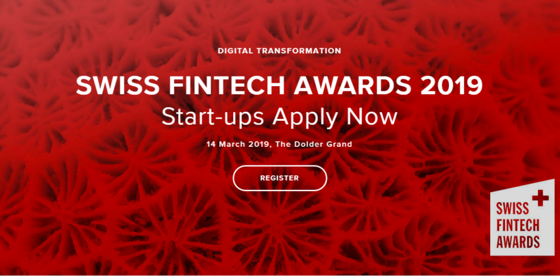 Swiss Fintech Awards 2019 Returns — Here's the Details and Why You Should Apply