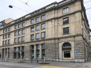 Trust Square building Zurich