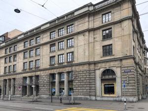 Trust Square building Zurich