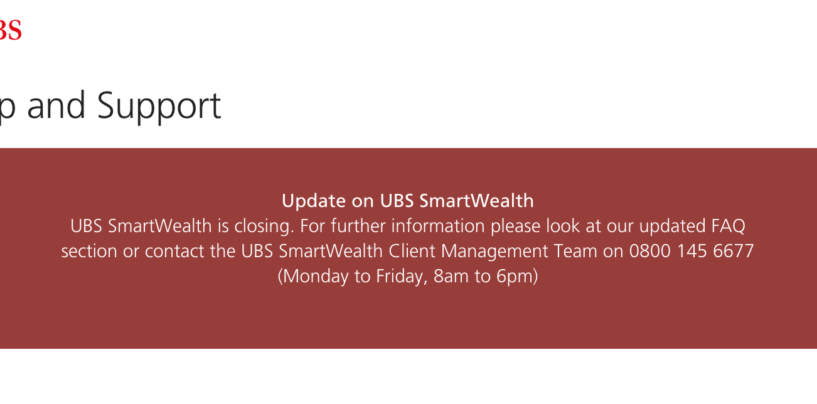 UBS Terminates UK Robo-Advisor Offering, Sells IP to Wealthtech Startup SigFig