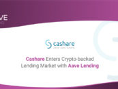 Switzerland's Crowdlending Pioneer – Cashare – Partners With Aave To Enter Digital Asset-Backed Lending Industry