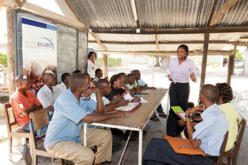 micro financing lending orange money salt poor loan