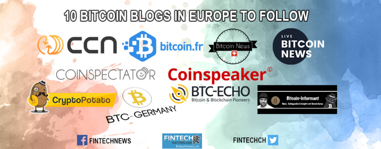 10 Bitcoin Blogs in Europe to Follow