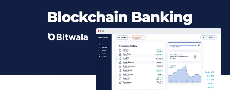 Europe's 1st Blockchain Bank