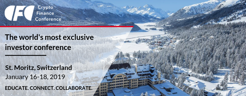 Crypto Finance Conference St. Moritz 2019