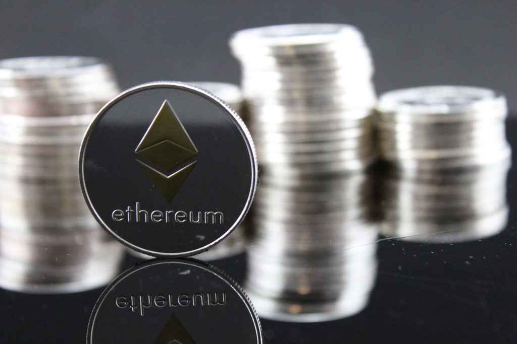 Ethereum ETH Crypto Coin Stock Photo, by Crypto360, Flickr