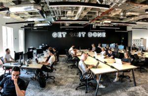 Revolut office, via Facebook