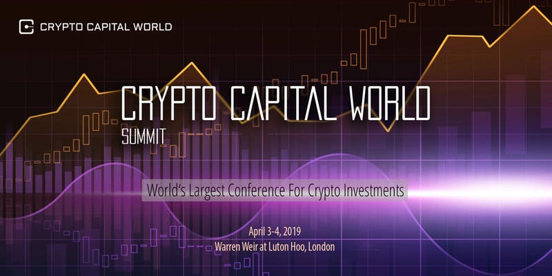 Fintech Events Conferences London 2019 - Crypto Capital World 2019