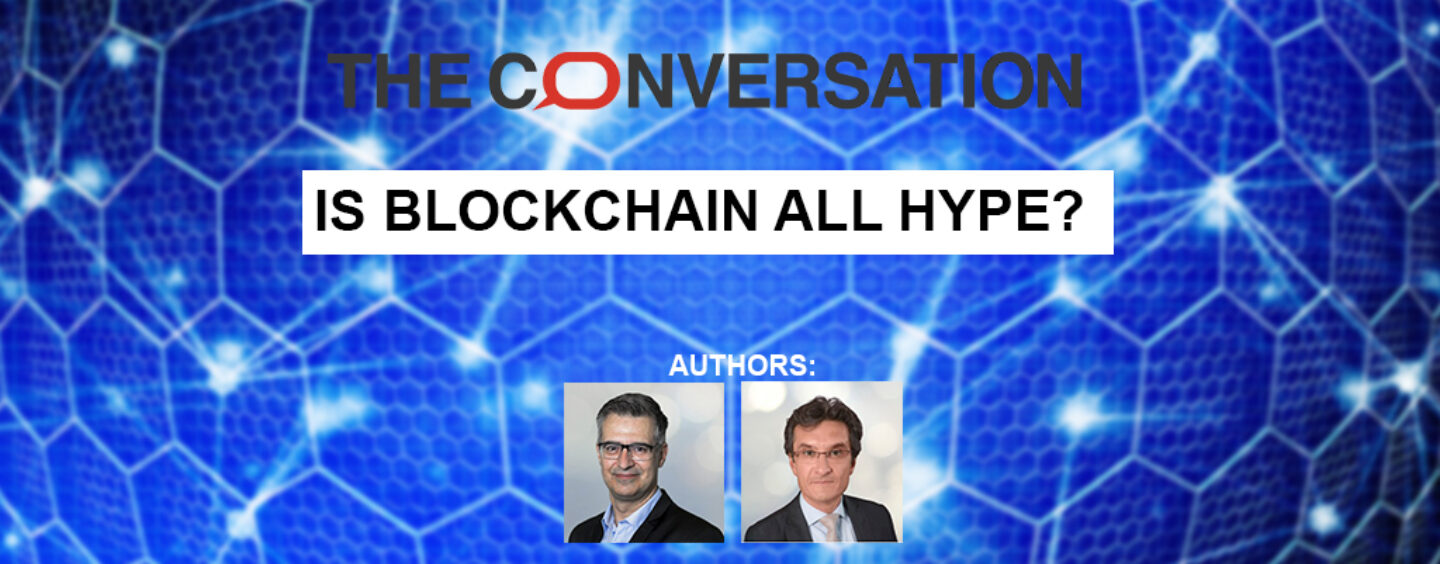 Is Blockchain all Hype? A Financier and Supply Chain Professor Discuss