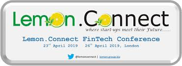 Fintech Events Conferences London 2019 - Lemon.Connect Fintech Conference